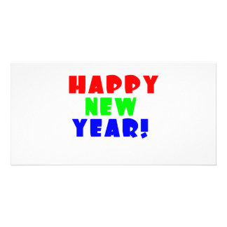 Happy New Year 2 Photo Card Template