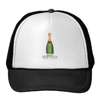 Happy New Year! (3) Mesh Hat