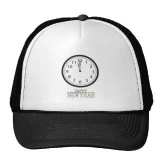 Happy New Year! (4) Mesh Hats