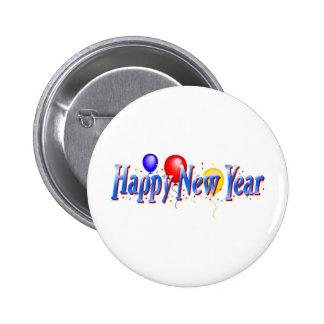 Happy New Year! 6 Cm Round Badge