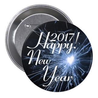 Happy New Year! 7.5 Cm Round Badge