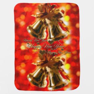 Happy New Year Baby Blanket