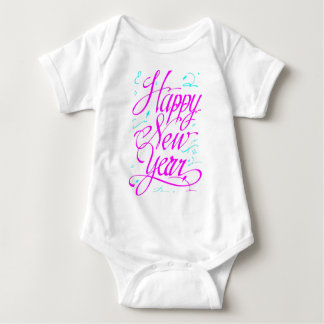 Happy New Year Baby Bodysuit