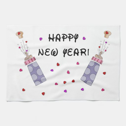 Happy New Year Baby Towel