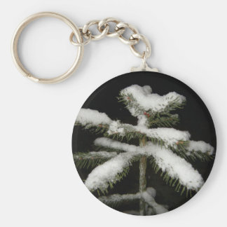 Happy New Year Basic Round Button Key Ring