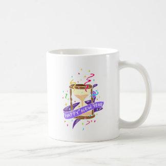 Happy New Year Basic White Mug