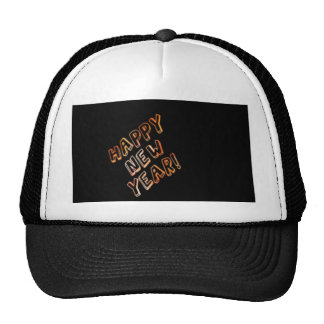 happy new year black hats