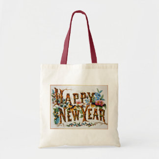 Happy New Year! - Budget Tote Tote Bags