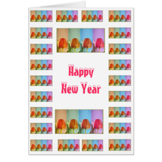 Happy New Year  - Buy Blank or Add Greeting Note Card