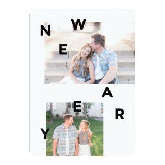 Happy New Year Card - Modern Holiday Card