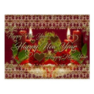 Happy New Year Card Postcard