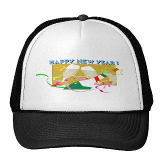 Happy New Year Champagne Cap