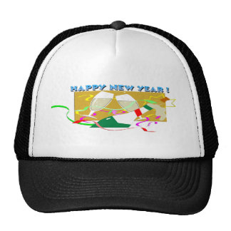 Happy New Year Champagne Hat
