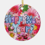 happy new year christmas ornament