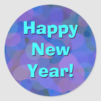 Happy New Year! Classic Round Sticker