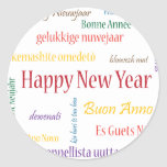 ** Happy New Year ** Classic Round Sticker