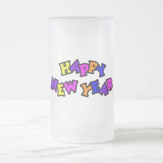 Happy New Year Color 4 Coffee Mug