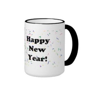 Happy New Year! Confetti Mug