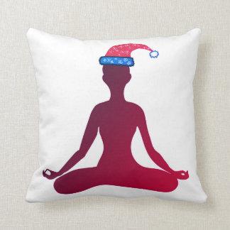 Happy New Year Cushion Yoga
