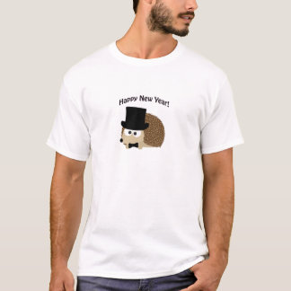 Happy New Year! Dapper Hedgehog T-Shirt