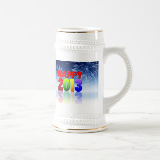 Happy New Year Design Coffee Mugs