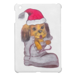 Happy New Year Dog iPad Mini Cover