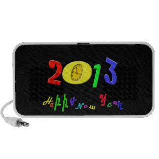 Happy New Year Doodle iPhone Speaker