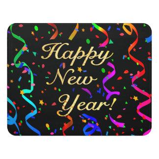"""""""Happy New Year!"""" Door Sign"""