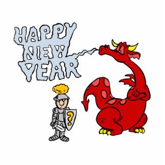 Happy New Year Dragon Cut Outs