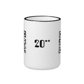 Happy New Year - English Ringer Mug