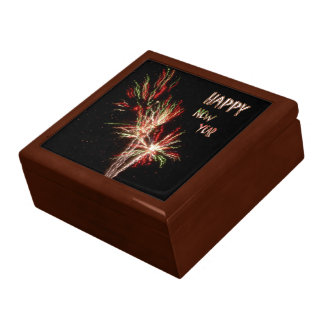 Happy New Year Fireworks Gift Box