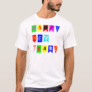 Happy New Year Flags T-Shirt