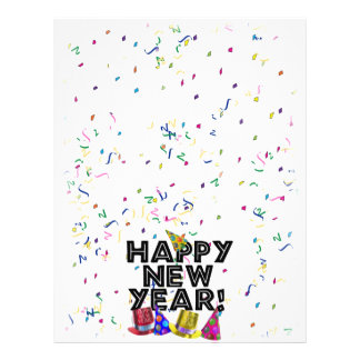 HAPPY NEW YEAR! FULL COLOR FLYER