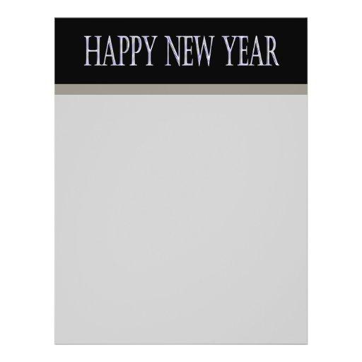 happy new year flyers