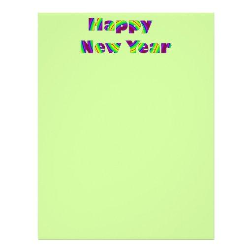 Happy New year Custom Flyer