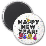HAPPY NEW YEAR! FRIDGE MAGNET