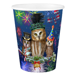 HAPPY NEW YEAR FROM ALL OF US! PAPER CUP
