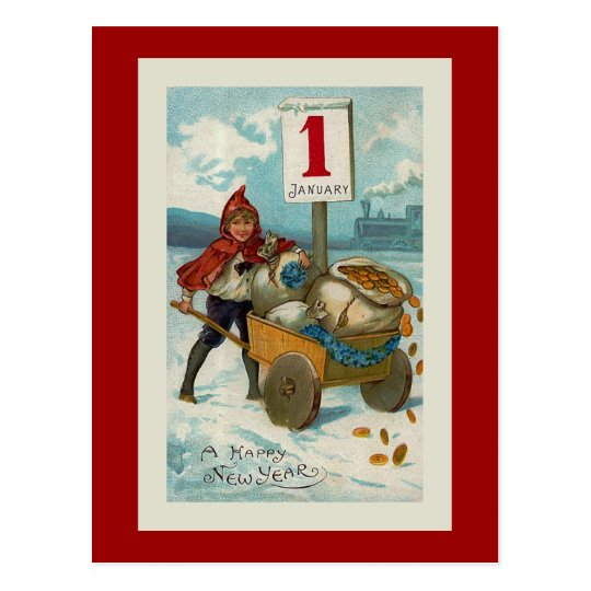 """""""Happy New Year"""" Greeting Card"""
