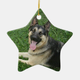 Happy New Year! GSD Christmas Ornament