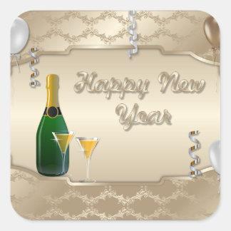 Happy New Year Holiday sticker