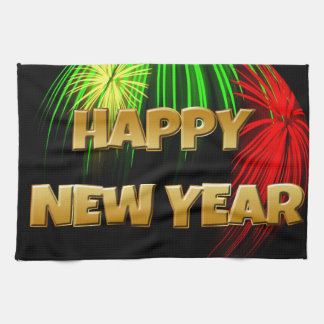 Happy New Year Image Hand Towel