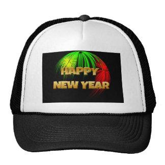 Happy New Year Image Trucker Hat