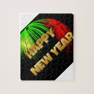 Happy New Year Image Jigsaw Puzzle