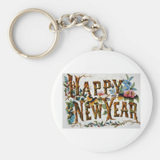 Happy New Year Key Chains