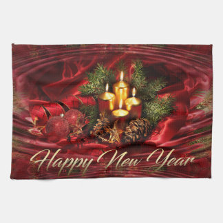 Happy New Year Kitchen Towel