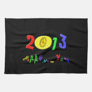 Happy New Year Kitchen Towels
