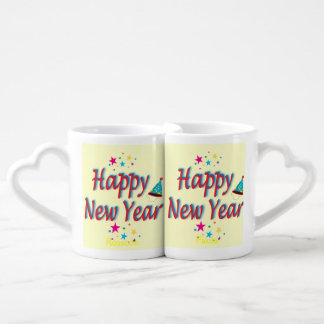 Happy New Year Message Lovers Mug