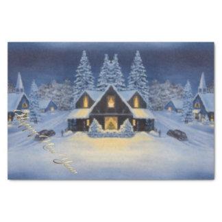 Happy New Year Napkin Tissue Paper