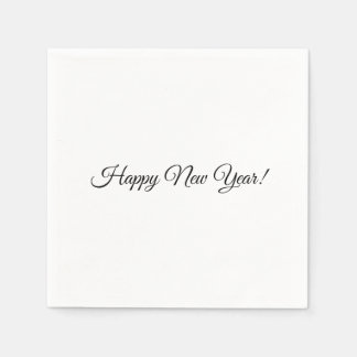 Happy New Year! Napkins Disposable Serviette