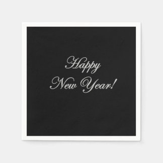 Happy New Year! Napkins Paper Serviettes